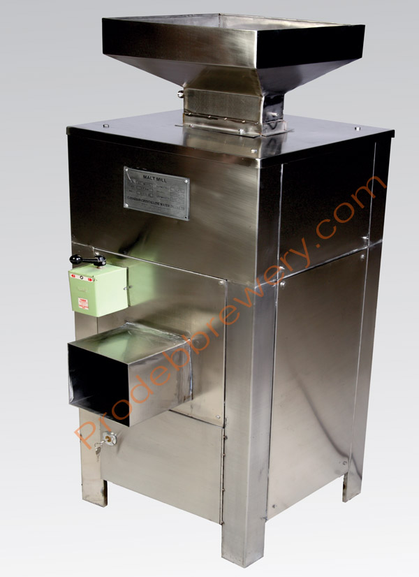 micro brewery malt mill